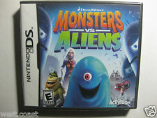 Monsters vs. Aliens  ( Nintendo DS , 2009)  Great Game & Price ! Sealed & New !