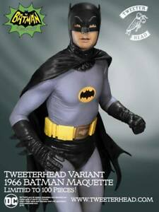 1966 BATMAN  # 25 / 100  LOW PRODUCTION  SIDESHOW  TWEETERHEAD  SEALED INSERT
