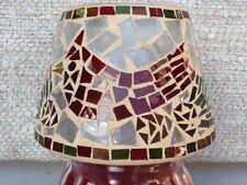 Home Interiors & Gifts Vintage Mosaic Cardinal Shade New In Box