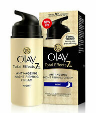 Olay Total Effects 7-In-1 Anti Ageing Night Firming Skin Cream, 20gm