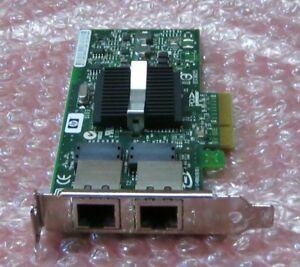 HP NC360T Dual Port DP Gigabit Ethernet Card 412651-001 412646-001 HH