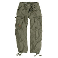 COMBAT POCKET TROUSER SURPLUS TEX  AIRBORNE ARMY MILITARY CARGO WORK PANT OLIVE