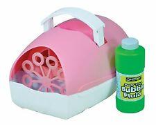 Rosa portatile Festa Macchina delle bolle con fluidi liberi-a batteria o plug in