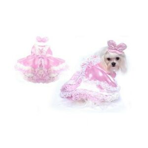 High Quality Dog Costume - BARKTORIA'S SECRET COSTUMES Pink Princess Dogs Dress