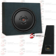 """JBL WS1200 12"""" CAR SHALLOW MOUNT 2 OR 4-OHM SUB WOOFER PLUS CURVED SUBWOOFER BOX"""