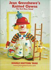 Jean Greenhowe - Knitted Clowns