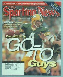 The Sporting News Magazine Dec 6, 1999 Go to Guy's Brett Favre GB Packers G