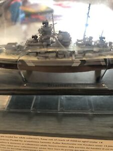 Small Scale Model Of DKM Bismarck Ship. Atlas / Deagostini