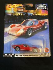New Listing2020 Hot Wheels Walmart Boulevard #19 69 Alfa Romeo 33 Stradale New Near Mint