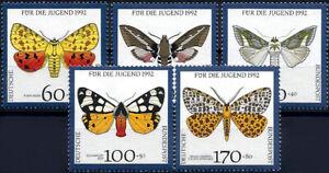 "1992 ""Germany"" Butterflies, Moths complete set VF/MNH! LOOK!"