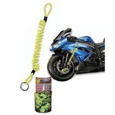 MOTOHART MOTOCICLETA BICI SCOOTER BLOQUEO DISCO RECORDATORIO CABLE