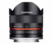 Samyang 8mm F2.8 Aspherical Ed UMC Fisheye Lens - Black Sony E Mount