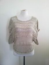 Great Layering Piece! BCBG Maxazria size S beige top in excellent condition
