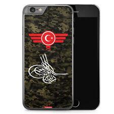 iPhone 6 6s Hard Case Hülle - Osmanli Tugrasi Türkiye Türkei Camouflage Motiv D