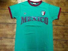 Unisex Mexico Soccer Team T-shirt Color Green Size Medium.