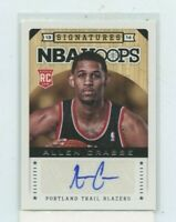 ALAN CRABBE 2013-14 Panini NBA Hoops Signatures Rookie Auto Autograph #192