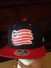 Adidas New England Revolution Wool Snapback Hat Cap NWT