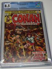 Conan the Barbarian #24 CGC 8.5 1st Full Appearance Red Sonja 1973 Really Sharp!