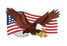 """Eagle and U.S Flag - PATCH - American Bold Nation 3.5"""""""