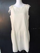 """All Saints NWT White Eyelet """"Milda"""" Dress. Size 10."""