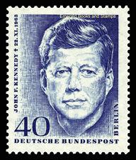 EBS West Berlin 1964 1st Death Anniversary President Kennedy Michel 241 MNH**