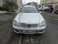 MERCEDES C160 SE COUPE FSH DRIVES VERY WELL WITH NO FAULTS