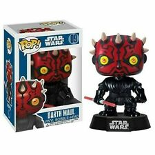 Star Wars DARTH MAUL Pop Vinyl Bobble Head Figure FUNKO #09 - - In Stock