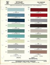 repair manuals \u0026 literature for 1962 chrysler imperial for sale ebay1962 and 1963 chrysler and imperial paint chips (ditzler)