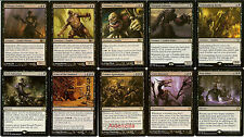 MTG Mono-Black Zombie Deck - Cemetery Reaper Apocalypse Army Magic Gathering