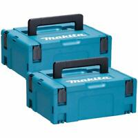 Makita 821550-0 MakPac Type 2 Connector Case 396mm x 296mm x 157mm Pack of 2