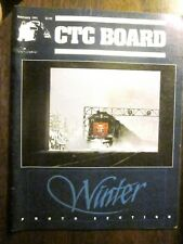 CTC Board Railroads Illustrated #172 February 1991 (Very Good) Winter