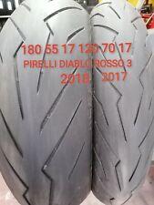 COPPIA GOMME MOTO 120/70/17 + 180/55/17 Pirelli Diablo Rosso 3