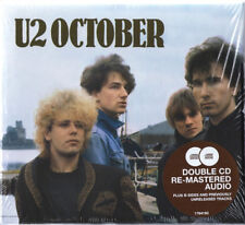 U2 - OCTOBER ; 2-CD Deluxe Limited Edition ; Brand New & Sealed.