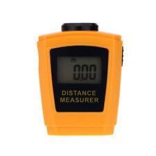 60FT/18M Laser Distance Meter Measurer Level  LCD Digital Ultrasonic RangeFinder