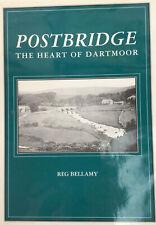 Book Postbridge The Heart Of Dartmoor By Reg Bellamy Signed Copy