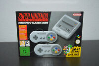 BRAND NEW SUPER NINTENDO CLASSIC SNES MINI CONSOLE WITH 2 CONTROLLERS 20+1 GAMES