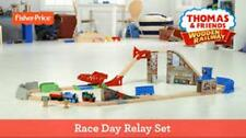 Fisher-Price Wooden Railway Race Day Relay Set Thomas the Train
