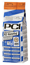 PCI nanofug 4 KG GRIS PLATA Mortero de lechada Flexible baño vestíbulo WC