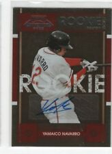 Yamaico Navarro 2008 Playoff Contenders RC Rookie Auto Autograph, 128