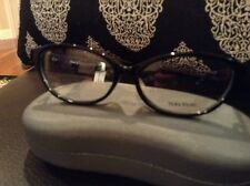 d6b6e5168f Vera Wang VA11 Black Womens Eyeglasses Size 53 New