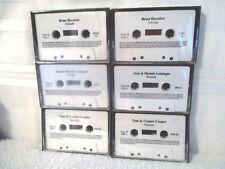 New 6 Sealed Amway Cassette Seminar Tapes- Cooper , Herosian , Leininger