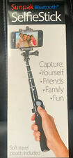 SUNPAK 35-Inch Selfie Stick with Removable Bluetooth Remote Control 1008055