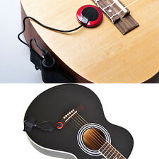Piezo Microfono Contatto PRO MICROFONO Pickup per Chitarra Violino Ukulele Banjo Mandolino