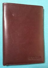 New COUNTRY ROAD Genuine Cowhide Wallet 10.5 cm x 14.5 cm Brown