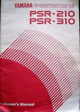 Yamaha PSR-210 PSR-310 Portatone Keyboard Original Owner's Manual User's Book