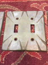 Spanish Revival Style Double Switch Plate Covers