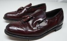 Dexter Mens 10 WW Burgundy Leather Wing Tip Oxford Dress Shoes