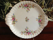ROYAL ALBERT England, Bone China  MOSS ROSE - grosse Tortenplatte 28,5cm