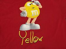 Yellow M&M XL Red T Shirt Classic Candy