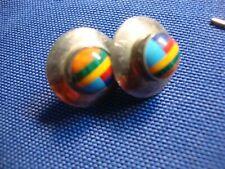 Sterling Silver Earrings Zuni American Estate 925